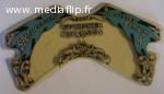 art 72 Rhodoïd central silverball bally