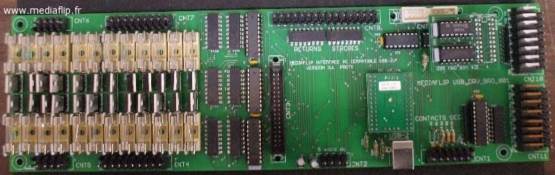 Carte électronique standard Médiaflip®