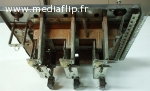 Porte flipper bally et entourage métallique